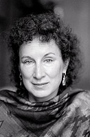 Canadian novelist Margaret Atwood