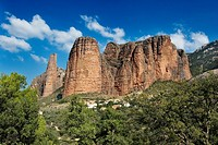 MALLOS DE RIGLOS, Huesca, Aragon, SPAIN