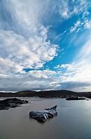 Svínafellsjökull glaciar  Skaftafell National Park  Iceland