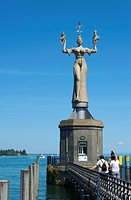 Imperia statue, Baden_Wuerttemberg, Germany, Europe