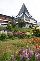 Tow hall of Ushuaia, Tierra del Fuego, Argentina