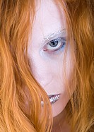 sensual red_haired woman