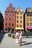 Sweden, Stockholm, Gamla Stan Stortorget