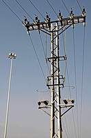 lamp, electrical tower