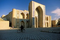 Central Asia, Uzbekistan,Bukhara,Ulughbek madrasa 1417