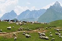 Mountains, Hautes-Pyrénées, France