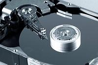 Macro photo _ Hard Disk Drive