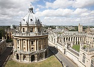 Above the University of Oxford