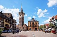 France, Alsace, Obernai, Route du Vin l´Alsace