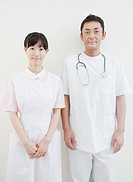 Portrait of Doctor and Nurse