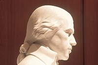 Close up of James Madison Memorial, James Madison Building, Library of Congress, Washington, DC