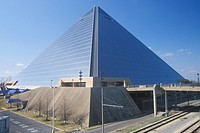 The Pyramid Sports Arena in Memphis, TN