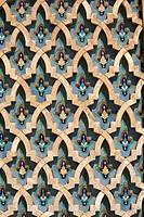 Mosaic Wall, Hassan II Mosque_Casablanca, Morocco
