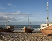 Uruguayan fishing boats