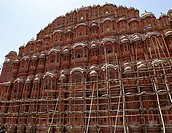 Hall of winds Hawa Mahal in Jaipur