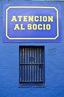 Ticket office, Boca Juniors stadium, La Boca district, Buenos Aires, Argentina