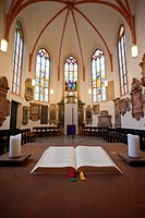 Interior of Heidelberg University church