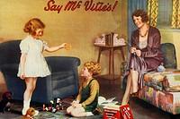 Mc Vitie´s cookies  Antique advertising  1930