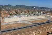 Airport Es Codolar, Ibiza, Balearic Islands, Spain