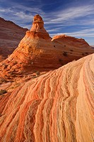Sandstone formations in Coyote buttes wilderness