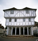 Thaxted Guildhall in Thaxted, Essex, England, UK