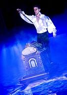 magician in circus
