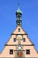 Germany Rothenburg ob der Tauber