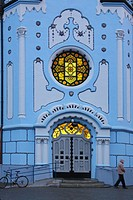 Bratislava _ Blue church