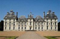 Chateau of Cheverny which inspired Hergé to draw the residence of Captain Haddock, Moulinsart XVIII, Loire Valley, France