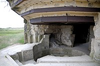 German bunker at Pointe du Hoc, Basse Normandie, France