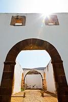 Convento franciscano  Pueblo Betancuria  Isla Fuerteventura  Pronvincia Las Palmas  Islas Canarias  España