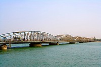 Senegal _ Saint_Louis _ Faidherbe Bridge