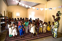 Senegal _ Sin Saloum Region _ Thiadiaye village _ School
