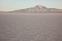 Sunrise on the world´s largest salt flats