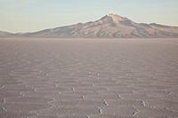 Sunrise on the world´s largest salt flats