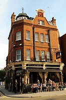 The Phoenix Pub, Moscow Road, Bayswater, London. United Kingdom