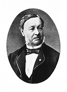 Theodor Schwann 1810_1882, German physiologist. Schwann discovered the first animal enzyme, pepsin, while studying digestion. He was the first to desc...