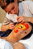 BEAUTY CARE, TRIAL EVENT AT THE 40TH OLYMPIAD OF METIERS IN BRITTANY, SAINT_BRIEUC, OCTOBER 2008, COTES_D´ARMOR 22