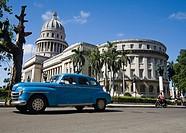 Cuba, Havana Vieja, Capitolio building