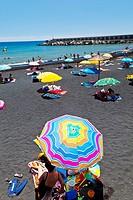 Playa del Puerto  Pueblo Tazacorte  Isla La Palma  Provincia Santa Cruz  Islas Canarias  España.