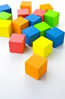 Blocks in different colors