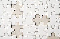 Jigsaw Pieces, four piece missing