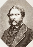 Francis Fowke, 1823 – 1865  British engineer and architect  Co-designer of Royal Albert Hall  From El Museo Universal, published Madrid 1862