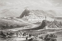 Kars , Turkey, from a 19th century print  From The Age We Live In, A History of the Nineteenth Century