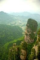 Mt Tianzi, Zhangjiajie, Hunan Province, China, Asia