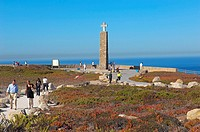 Cabo da Roca  Cape da Roca  Lisbon district  Sintra coast  Portugal  Europe.