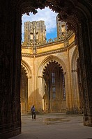 Batalha  Unfinished Chapels at Monastery of Santa Maria da Vitoria  Batalha Monastery  UNESCO  World Heritage  Leiria district  Estremadura  Portugal.
