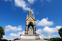 The Albert Memorial, Kensington Gardens, London, England, UK