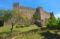 Pombal  Templar Castle  Leiria district  Estremadura  Portugal  Europe.