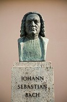 Johann Sebastian Bach Bust, Weimar, Germany